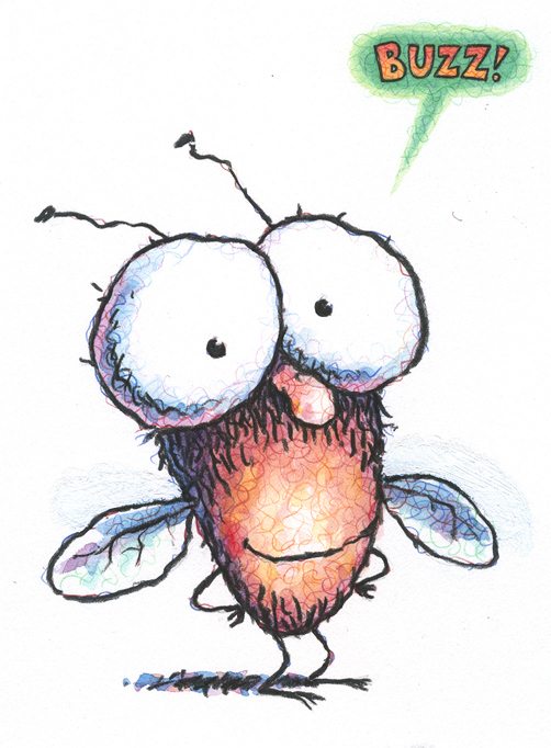 Tedd Arnold Fly Guy, from the book, Hi!Fly Guy